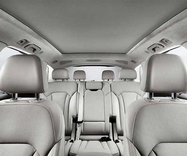 Interior Audi Q7 7 personas