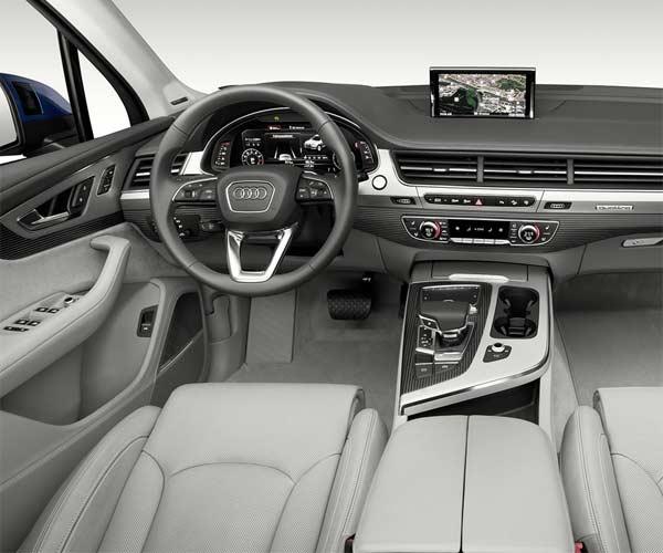 Navegación Audi Q7 7 puestos