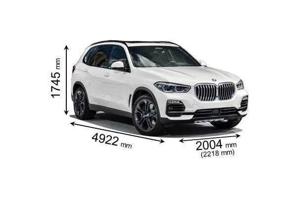 BMW X5 Medidas