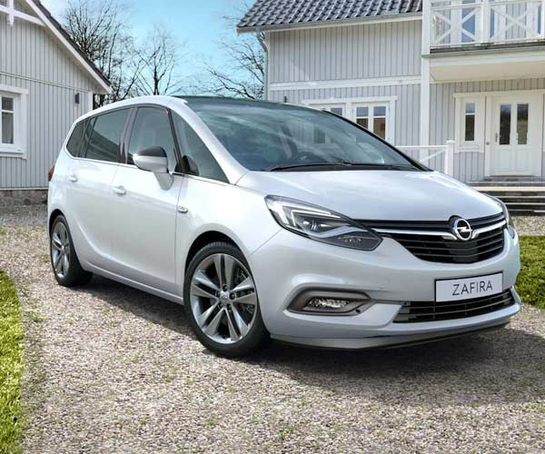 Opel Zafira Tourer 7 Plazas