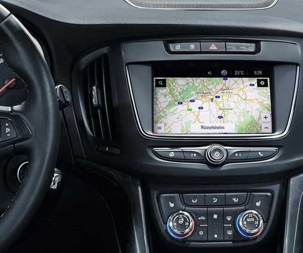 Opel Zafira Tourer Navegación