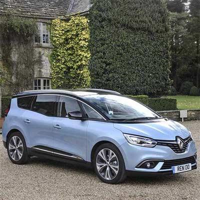 Renault Grand Scenic 7 plazas híbrido