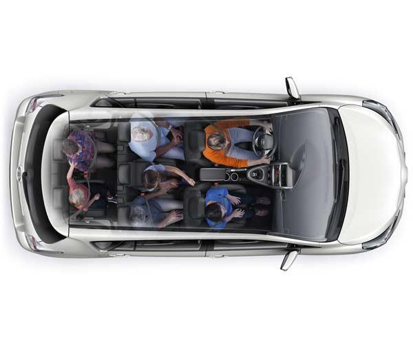 Toyota Verso siete pasajeros